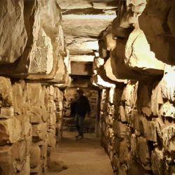 Pasaje subterráneo de Chavín de Huantar.