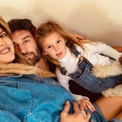 Mery del Cerro y su familia