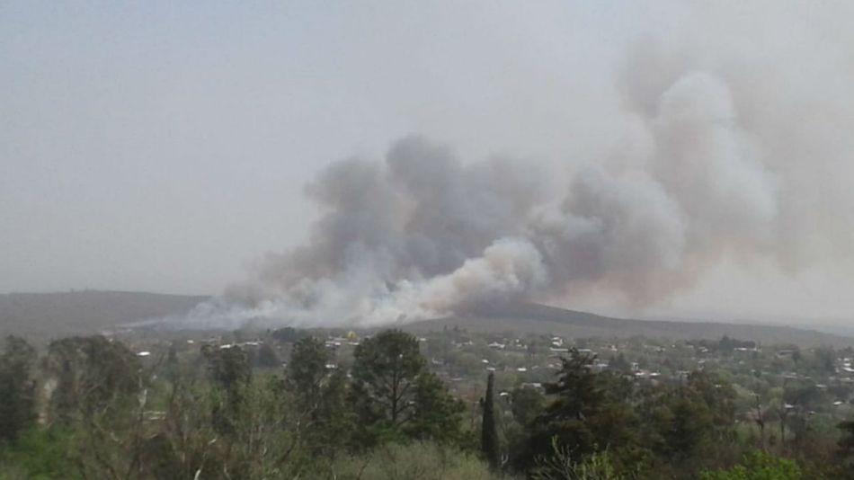 Hay todavía cuatro incendios activos en Córdoba.