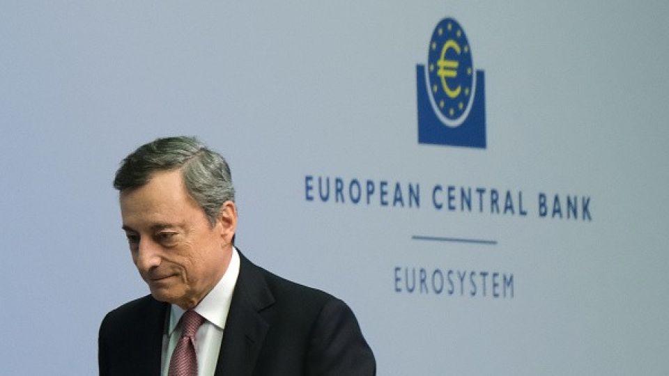 Mario Draghi's leaving soon.