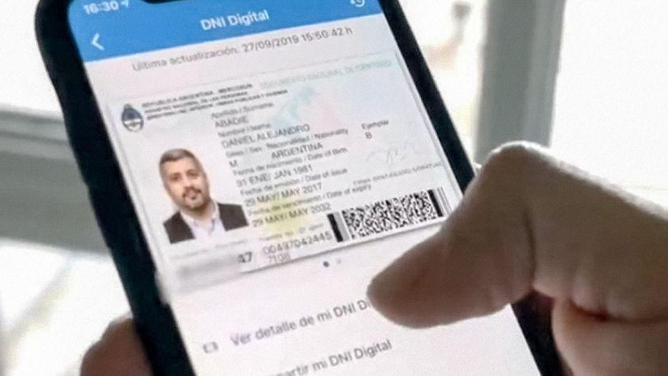 """EL DNI digital """"no reemplaza sino que complementa"""" al DNI tarjeta actualmente vigente."""