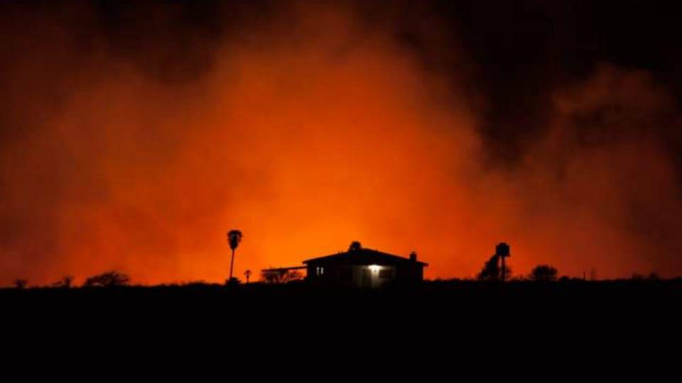 Los incendios forestales mantuvieron en vilo a la provincia de Córdoba este fin de semana en Córdoba.
