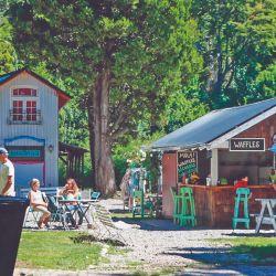 Uno de los bonitos rincones europeos de Colonia Suiza, Río Negro, en las inmediaciones de Bariloche.