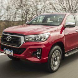 Toyota Hilux, líder en ventas en la Argentina con 2.097 unidades patentadas en septiembre.