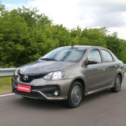 2° Toyota Etios, 1.373 unidades patentadas en septiembre.
