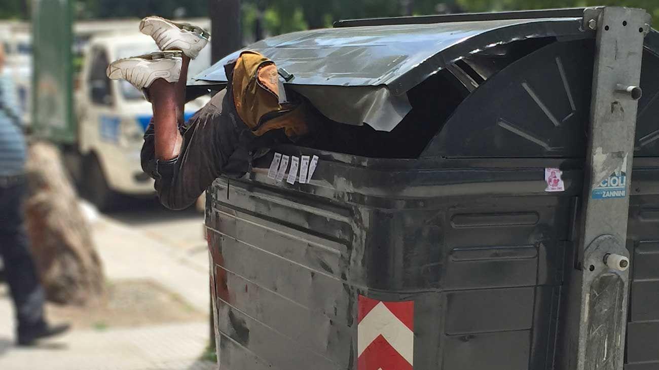 Pobreza en Argentina.