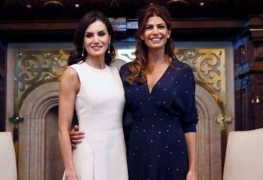La reina Letizia y Juliana Awada.
