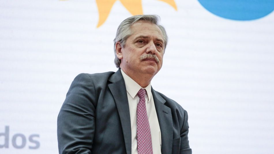 Presidential Candidate Alberto Fernandez Speaks At 'Buenos Aires, City Of Knowledge' Event