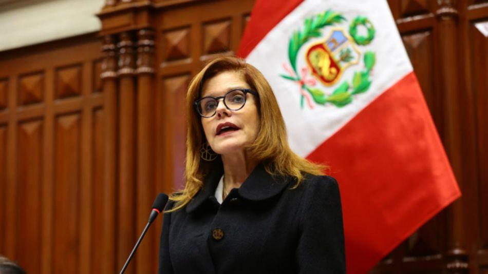 Mercedes Araoz perú