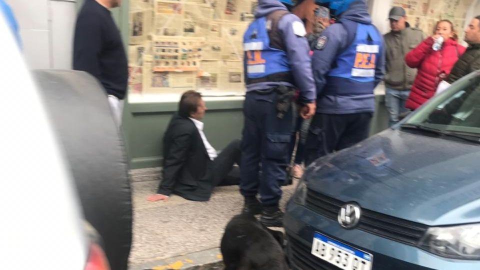 agresion intendente parana Sergio Varisco g_20191001