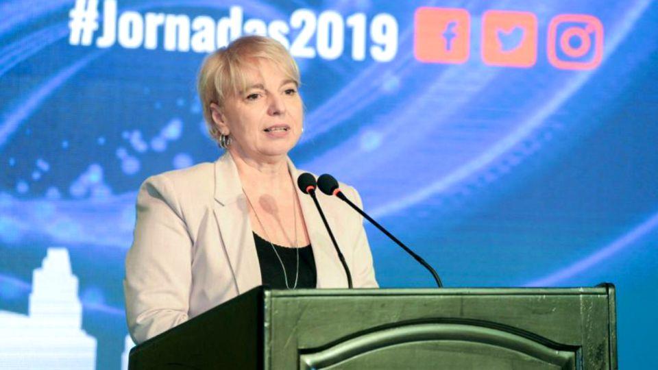 Silvana Giudici, ex presidenta del Ente Nacional de Comunicaciones (Enacom)