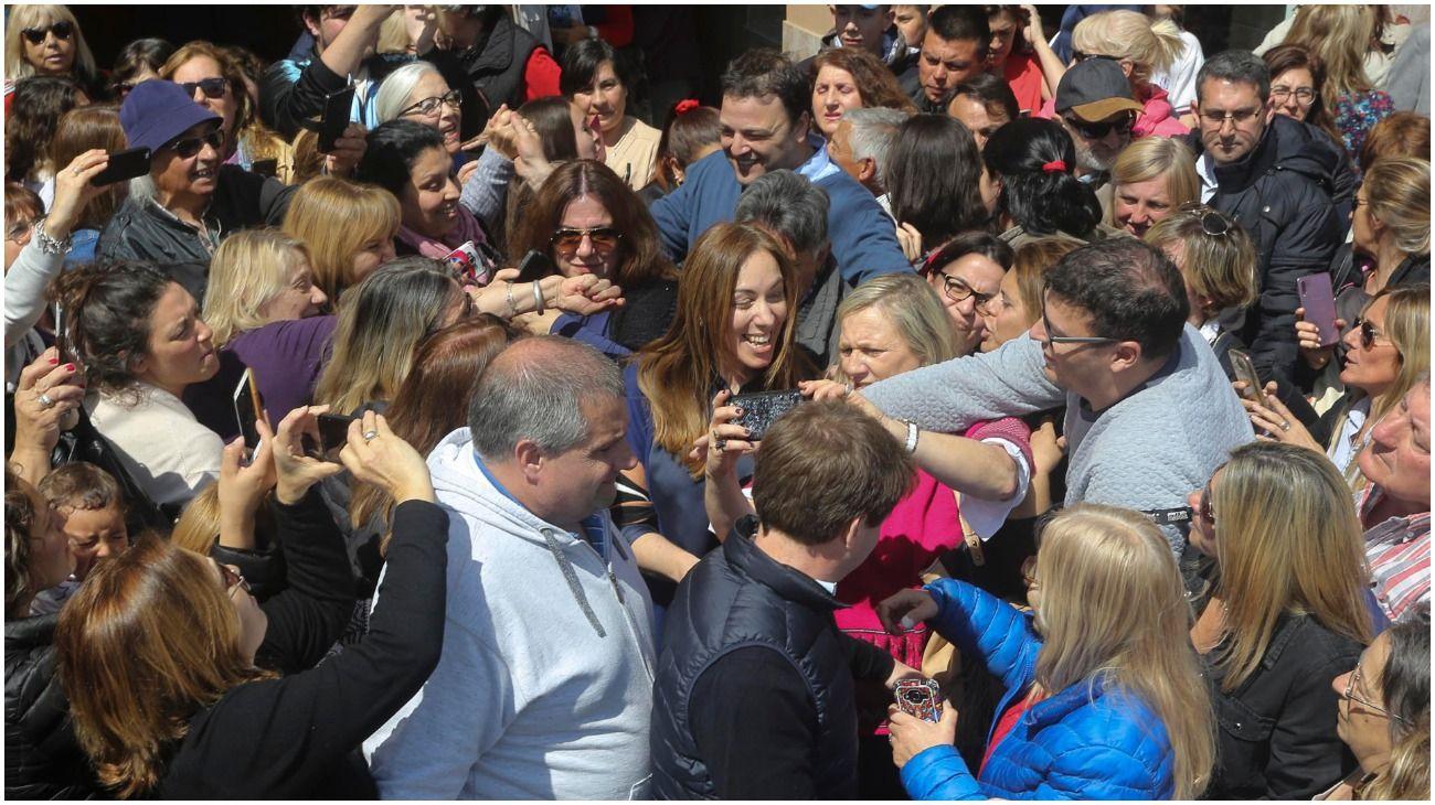 """Vidal hace campaña: almorzó con intendentes y legisladores con una arenga """"triunfalista"""""""