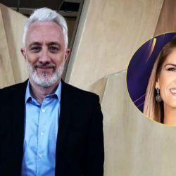 Andy Kusnetzoff y Viviana Canosa