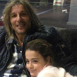 Claudio Caniggia y su ¿nieta oculta?