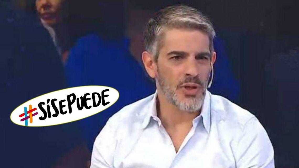 Pablo Echarri tildó de inoperante al Gobierno y los chicaneó con su slogan