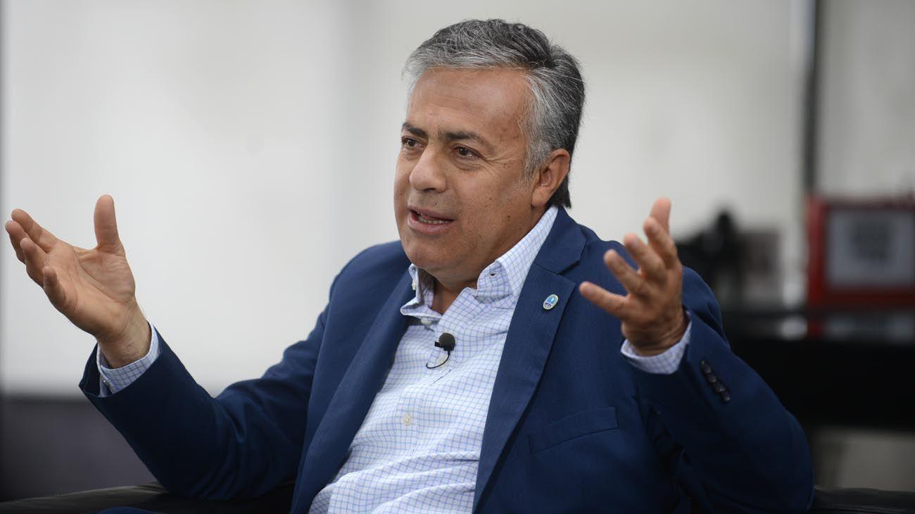"""Alfredo Cornejo: """"Hay una alta tolerancia a la corrupción en Argentina"""""""
