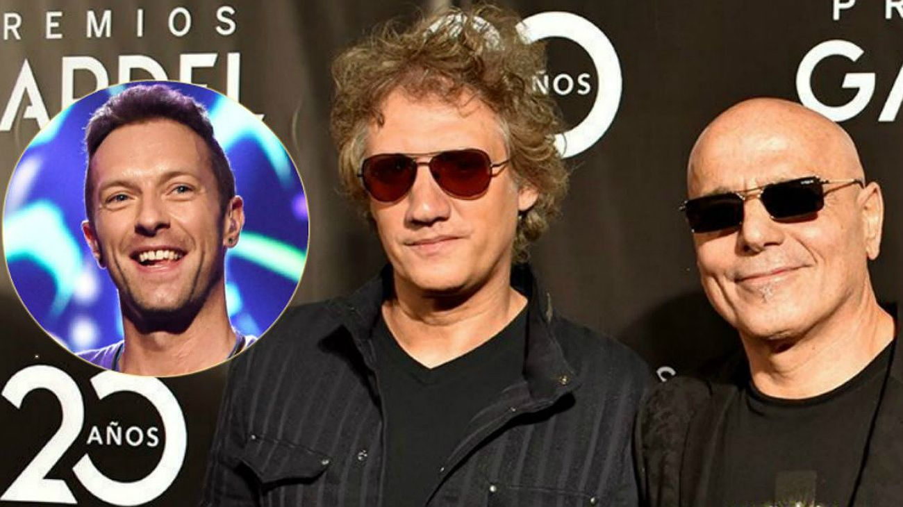 Chris Martin, nuevo cantante de Soda Stereo.