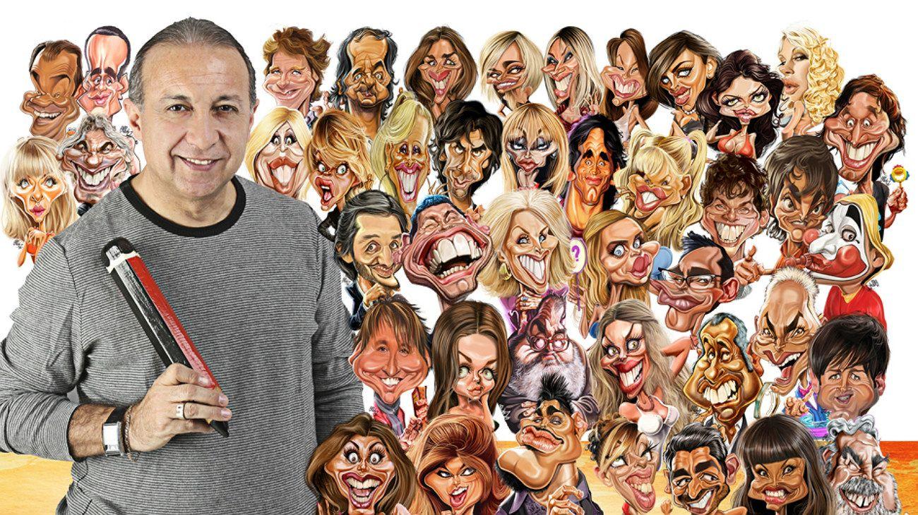 El argentino Luis Ordoñez, el primer caricaturista del mundo en exponer en el Louvre de París