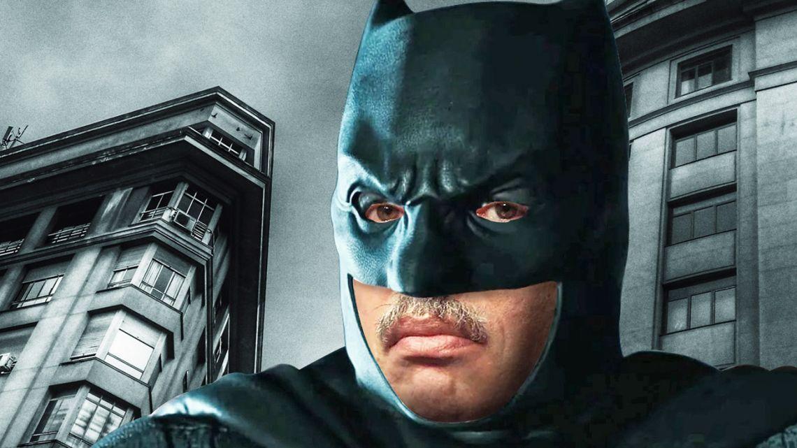 Alberto Fernandez as Batman.
