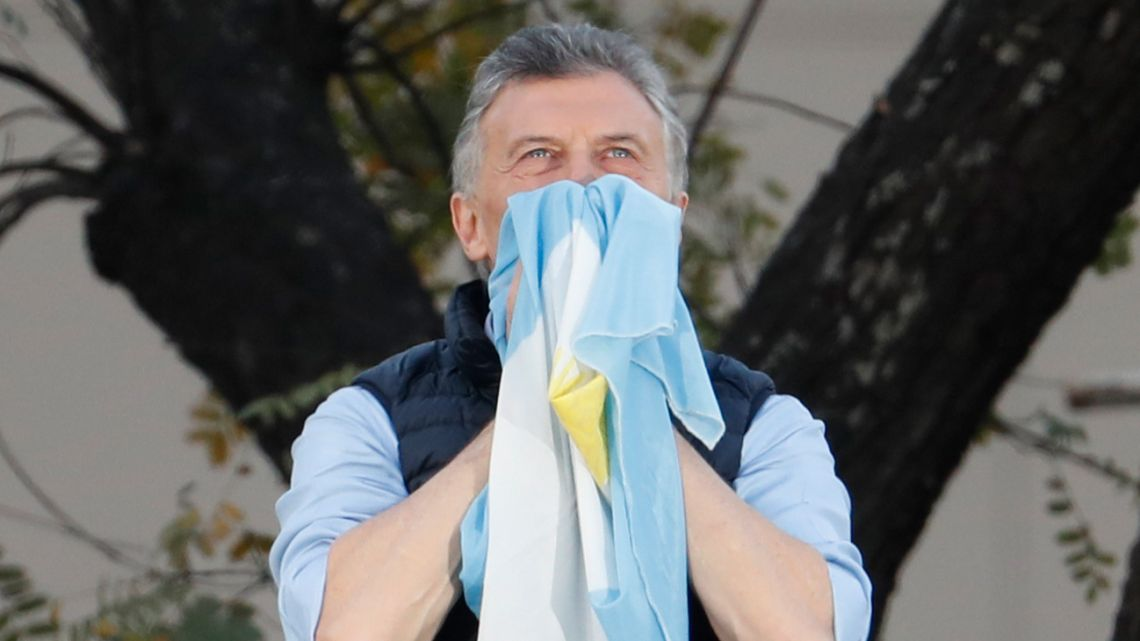 Macri at #Sisepuede march.