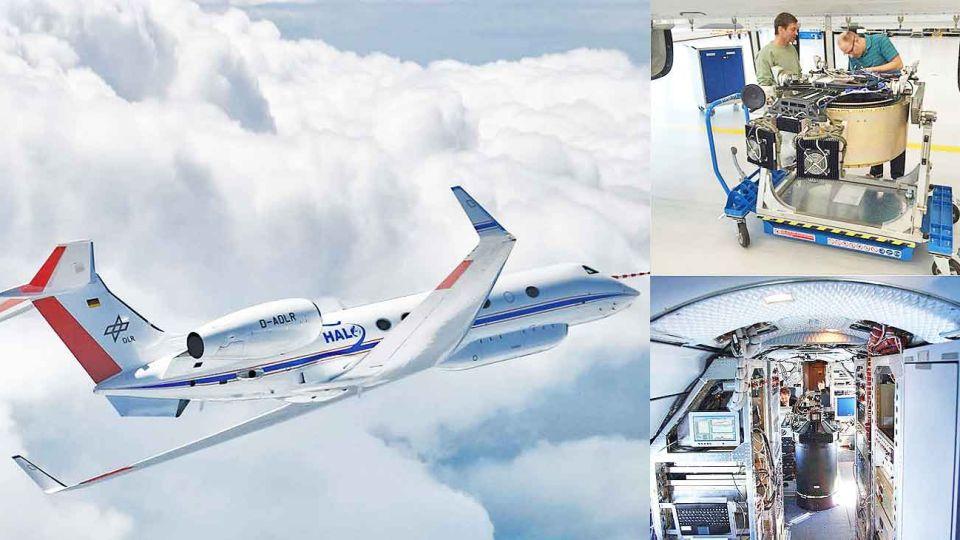 Sofisticado. En el mundo hay apenas cinco aviones capaces de tomar muestras y hacer análisis in situ de la física y la química aérea.