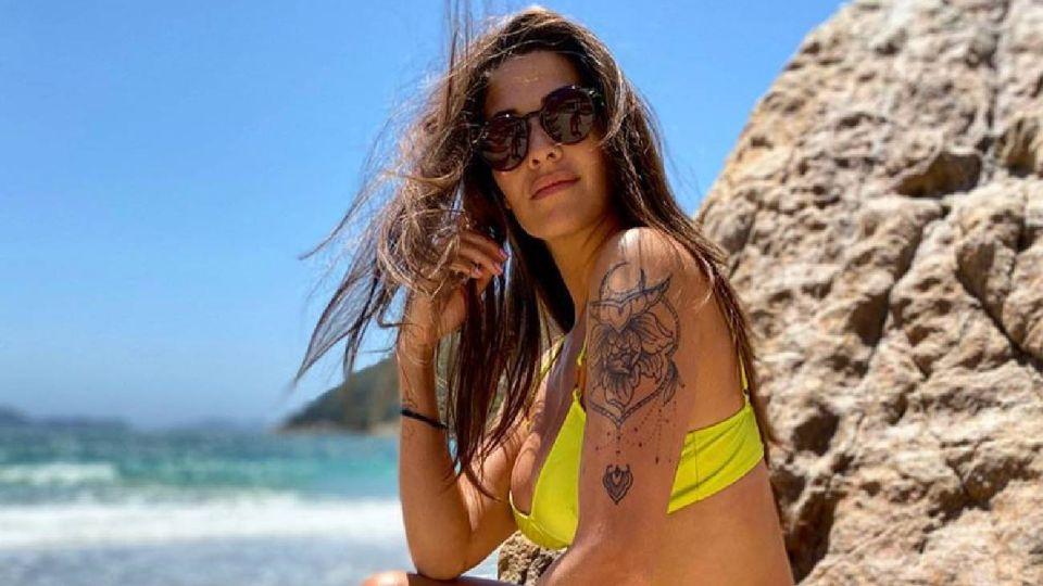 El video más sensual de Ivana Nadal entrenando en la playa