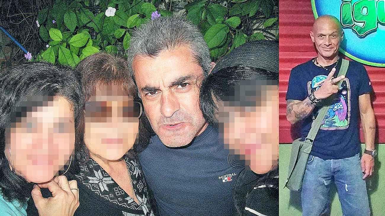 Sospechosos. El Perro Rojas (izq.), jefe de operaciones, y el oficial Omar Tarzia (der.), dos de los policías que estaban a cargo del escáner por el que iban a pasar las valijas repletas de droga.