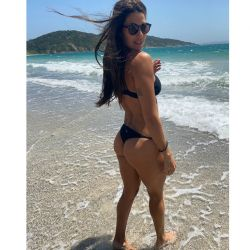 Ivana Nadal y su mejor amiga en Brasil