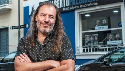 El autor. Raposo integra el equipo publicitario de la campaña del Frente de Todos.