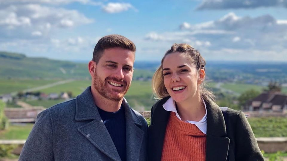 Las románticas vacaciones de Julieta Nair Calvo y su novio por Europa