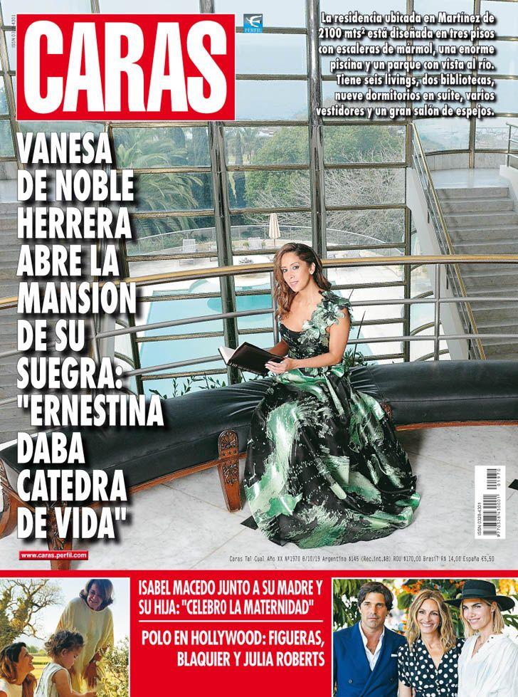 "Vanesa de Noble Herrera: ""Ernestina daba cátedras de vida"""