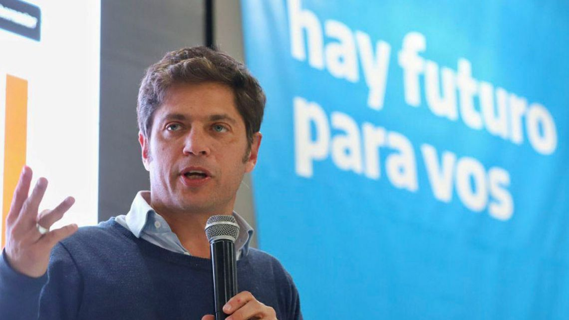Candidate for governor of Buenos Aires Province Axel Kicillof