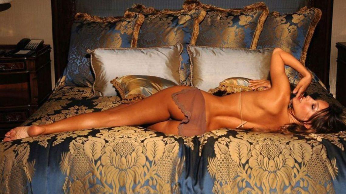 Las fotos hot de Pampita que hicieron estallar las redes