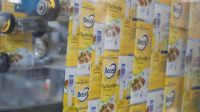 Margarine Production Inside A Unilever NV Factory