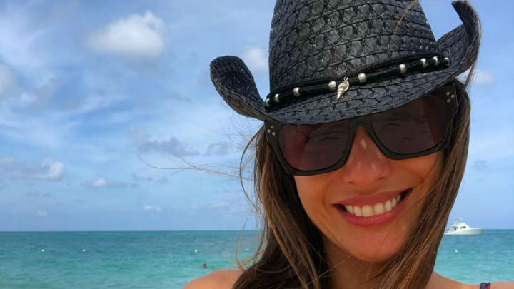¡Se le vio todo! El accidente hot de Pampita