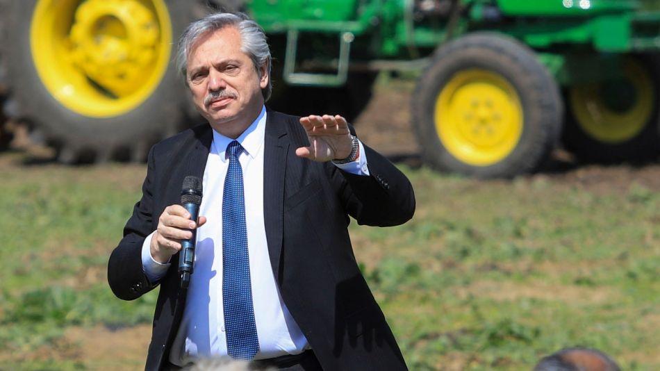Alberto Fernández y Daniel Arroyo presentaron el programa Argentina contra el hambre.