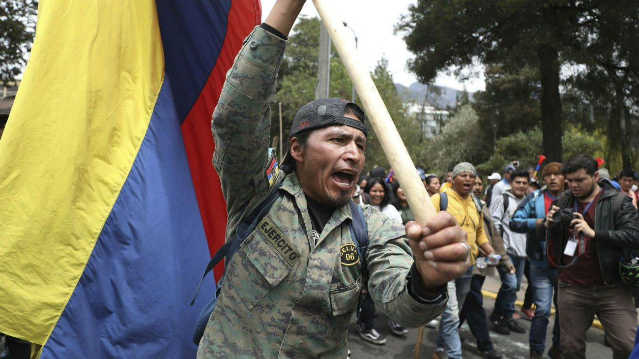 Las protestas populares han sido siempre protagonistas de los mandatos acortados.