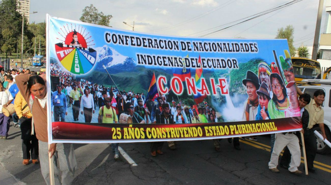 Correa y los indígenas