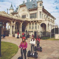 Un tour rodado en carrito Segway es la novedad en Tigre.