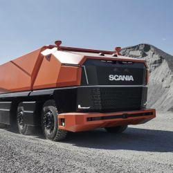 El Scania AXL es un prototipo de camión autónomo que carece de cabina.