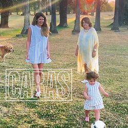 """Isabel Macedo junto a su hija y su mamá preparan el """"Día del la Madre"""""""