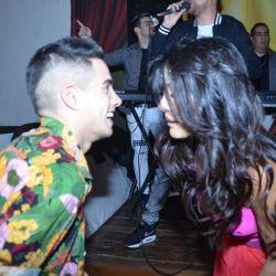 Tras la crisis, Silvina Escudero se mostró apasionada con su novio, en su cumple
