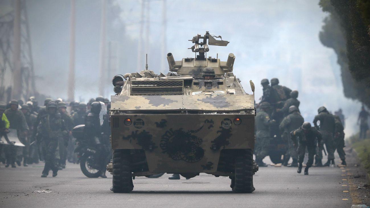 Video | Ecuador: ya son dos los muertos tras nuevos choques en una Quito sitiada por las protestas