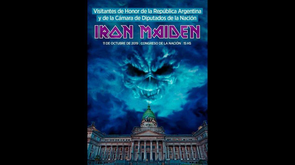 victoria donda diputados iron maiden