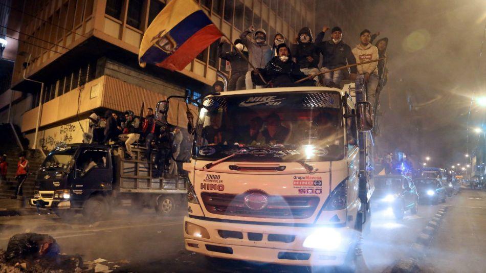 violencia en ecuador congreso