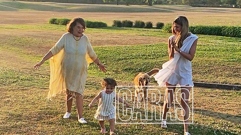 """Isabela Macedo junto a su hija y su mamá preparan el """"Día del la Madre"""""""