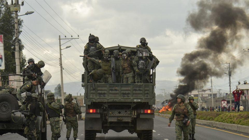 violencia en ecuador