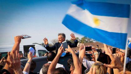 Mauricio Macri recorrida