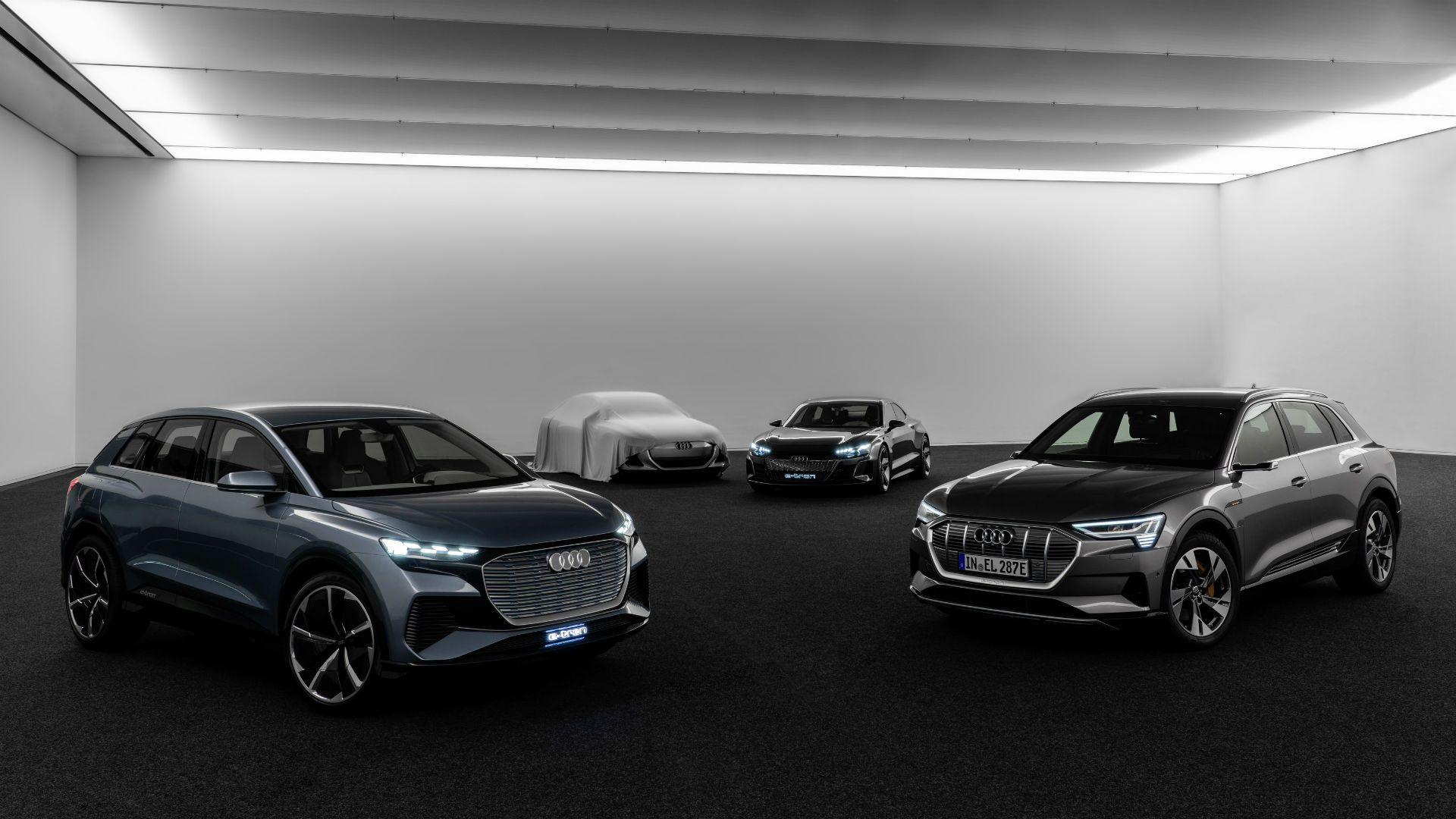 Parabrisas Audi Lanzará 30 Nuevos Autos Eléctricos