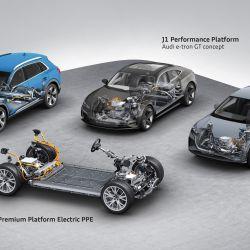 Las plataformas que el grupo VW utiliza para desarrollar vehículos eléctricos